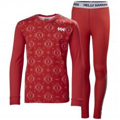 Helly Hansen Lifa Active set, junior, raspberry