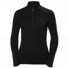 Helly Hansen Lifa Merino 1/2 Zip, women, black