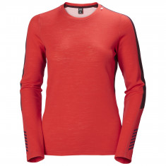 Helly Hansen Lifa Merino Lightweight Crew, women, raspberry