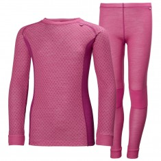 Helly Hansen Lifa Merino set, junior, dragon fruit