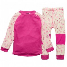Helly Hansen Lifa Merino set, kids, off white