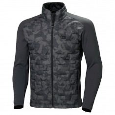Helly Hansen Lifaloft Hybrid Insulator jacket, men, charcoal camo
