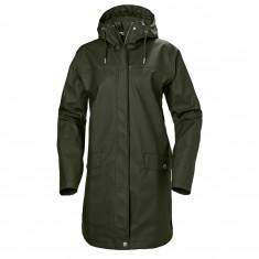 Helly Hansen Moss rain coat, women, forest night