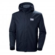 Helly Hansen Seven J, rain jacket, men, navy