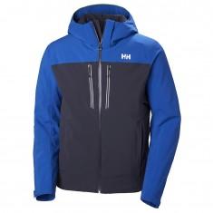Helly Hansen Signal ski jacket, mens, graphite blue