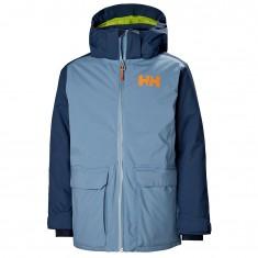 Helly Hansen Skyhigh ski jacket, Junior, blue fog