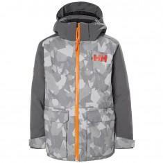 Helly Hansen Skyhigh ski jacket, Junior, quiet shade