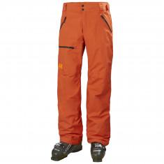 Helly Hansen Sogn Cargo ski pants, men, patrol orange