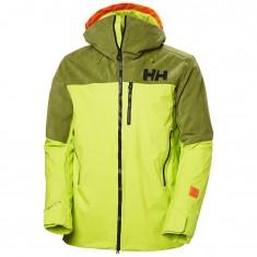 Helly Hansen Straightline Lifaloft ski jacket, men, azid lime