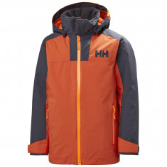 Helly Hansen Terrain, ski jacket, junior, patrol orange