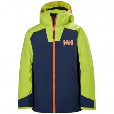 Helly Hansen Twister ski jacket, junior, blue