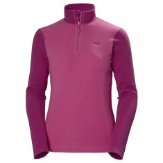 Helly Hansen W Daybreaker 1/2 zip Fleece, women, dragon fruit