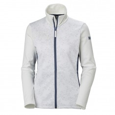 Helly Hansen W Graphic fleece jacket, women, white