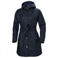 Helly Hansen W Kirkwall II Raincoat, womens, navy