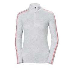 Helly Hansen Lifa Active Graphic 1/2 Zip, women, white