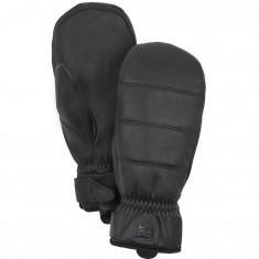 Hestra Alpine Leather Primaloft ski mitten, black