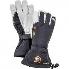 Hestra Army Leather Goretex ski gloves, black