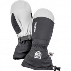 Hestra Army Leather Heli mitten, black