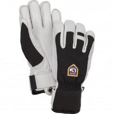 Hestra Army Leather Patrol ski gloves, black