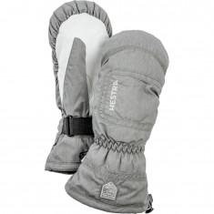 Hestra CZone Powder ski mitten, women, light grey