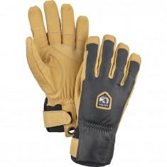 Hestra Ergo Grip Incline ski gloves, grey/brown