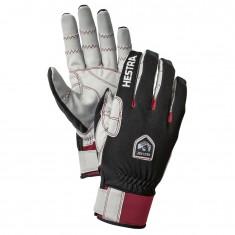 Hestra Ergo Grip Windstopper Race ski gloves, black