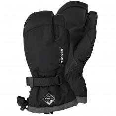 Hestra Gauntlet 3-finger ski gloves, junior, black