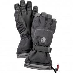 Hestra Gauntlet ski gloves, mens, black
