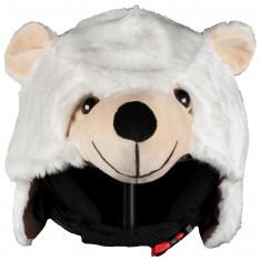 Hoxyheads helmetcover, Polar Bear