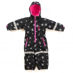 Hulabalu X-Star Snowsuit, Black Girl