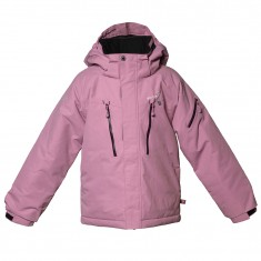 Isbjörn Helicopter ski jacket, kids, dusty pink