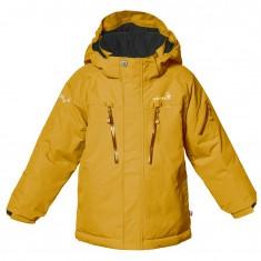 Isbjörn Helicopter ski jacket, junior, saffron
