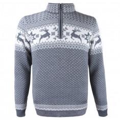 Kama Arthur Merino Sweater, men, grey
