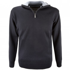 Kama Bjoern Merino Sweater, men, black