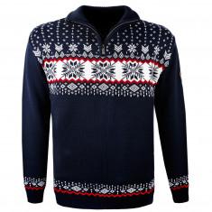 Kama Erik Merino Sweater, men, navy