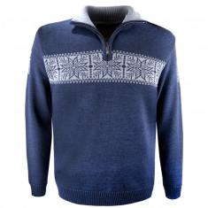 Kama Erik Merino Sweater, men, navy