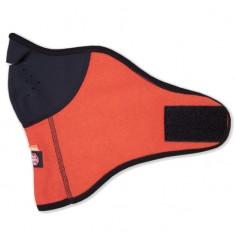 Kama face mask, windstopper, orange