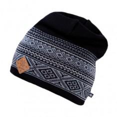 Kama Fashion knitted beanie, black