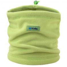 Kama Kids  neck warmer, Tecnopile fleece, lime