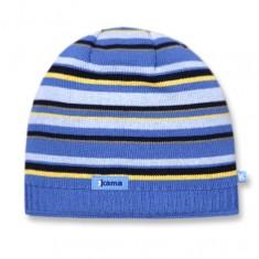 Kama Street beanie, striped, Blue