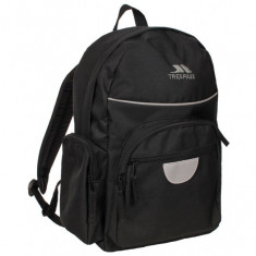 Trespass Swagger, Kids Backpack, 16 Litre, black