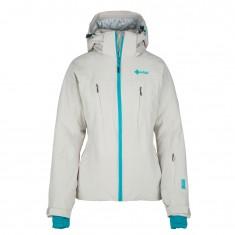 Kilpi Addison-W womens ski jacket, beige