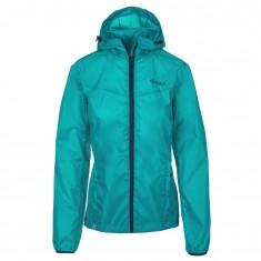 Kilpi Deneri-W rainjacket, women, turquoise