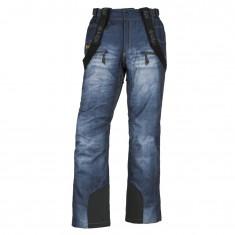 Kilpi Denimo-M, Mens Ski pants, blue