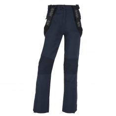 Kilpi Dione-W womens softshell ski pant, dark blue
