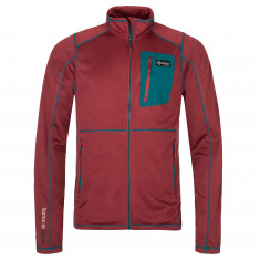 Kilpi Eris, fleece jacket, mens, dark red