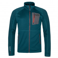 Kilpi Eris, fleece jacket, mens, turquoise