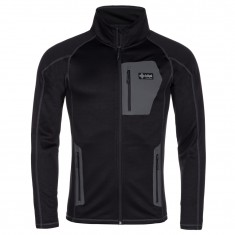 Kilpi Eris-M, fleece jacket, mens, black