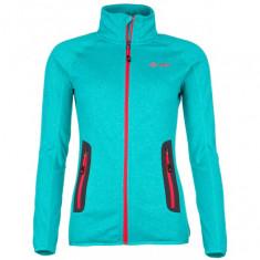 Kilpi Eris-W, womens fleece jacket, turquoise