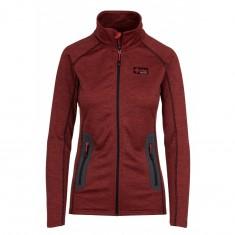Kilpi Eris, womens fleece jacket, red